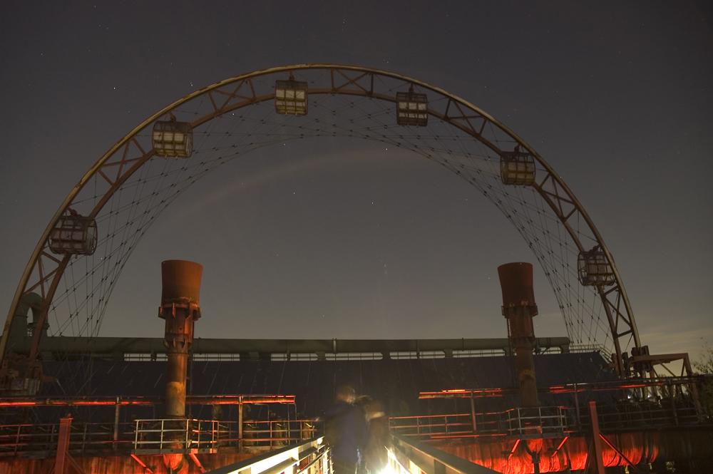 Das Sonnentor der Kokerei Zollverein