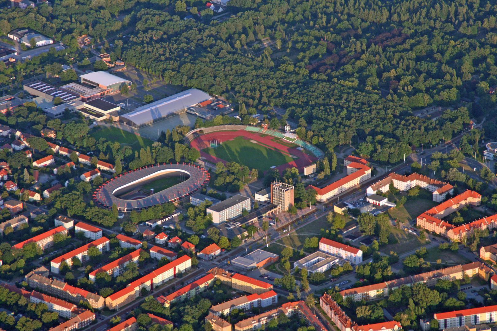 Das Sportzentrum von Cottbus
