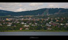 Das Stadtbild von Lillehammer