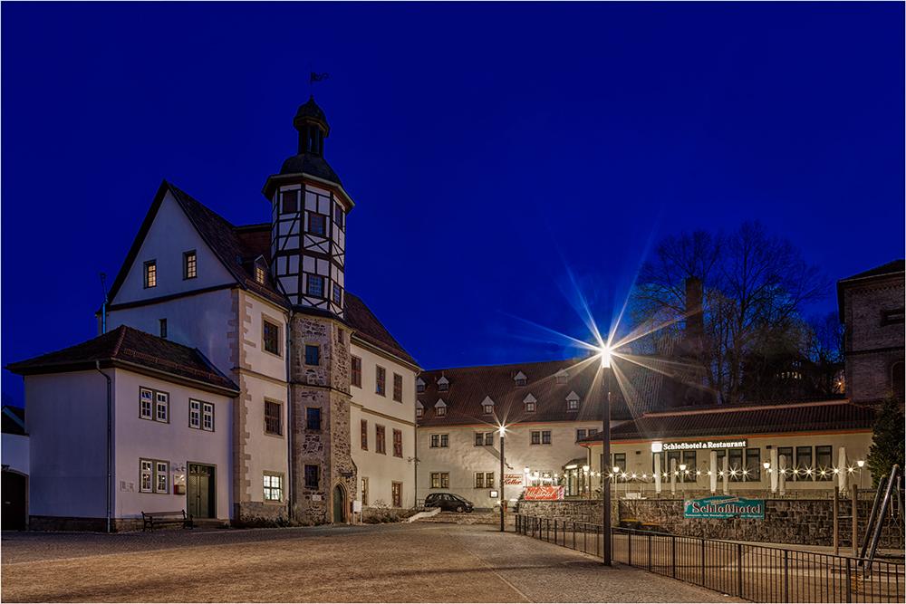 Das Stadtschloß in Eisenach
