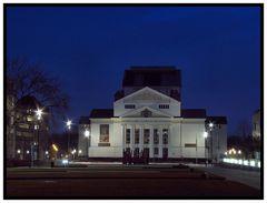 Das Stadttheater von Duisburg