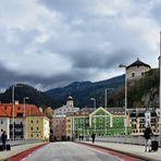 Das Städtchen Kufstein in Tirol