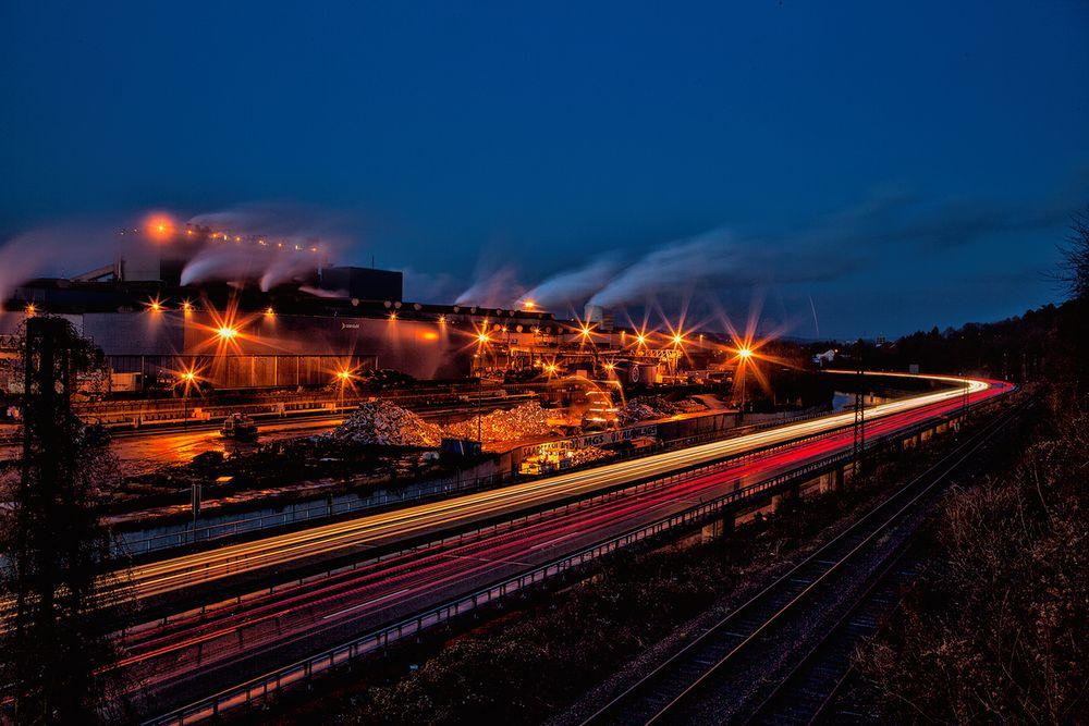 Das Stahlwerk in Völklingen