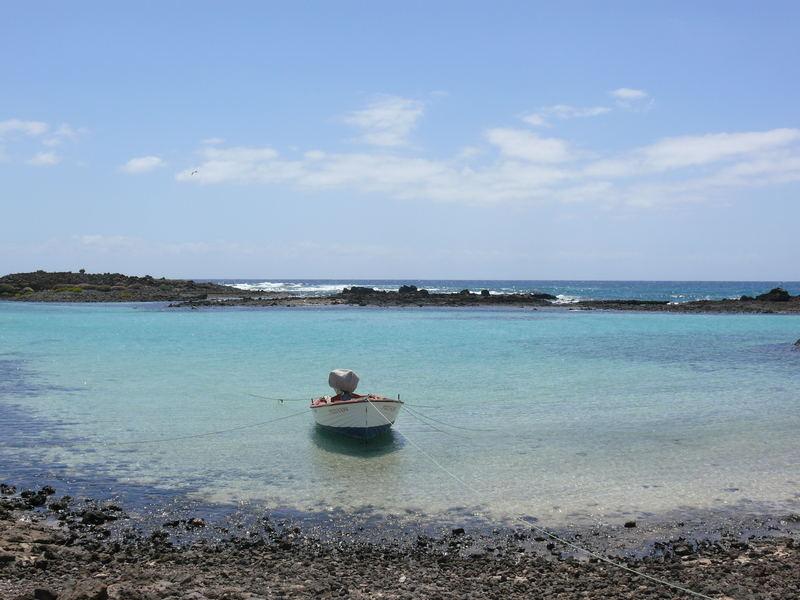 Das Stillleben auf einer Insel