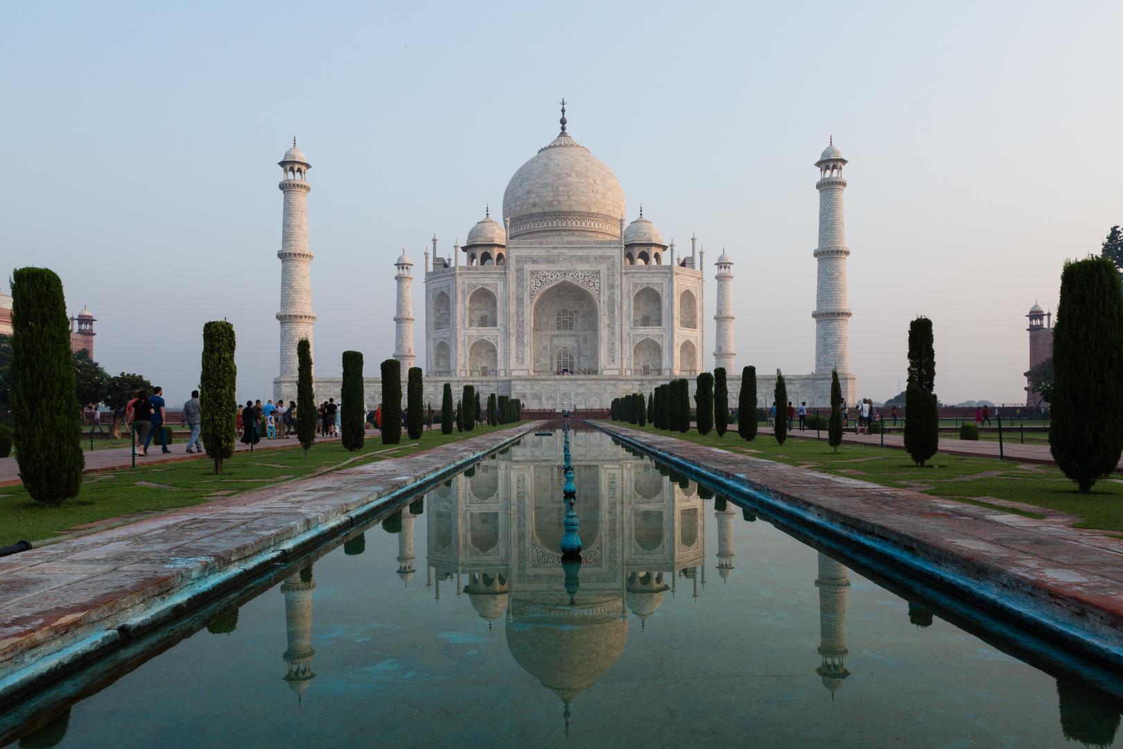 Das Taj Mahal - die klassische Ansicht (1)