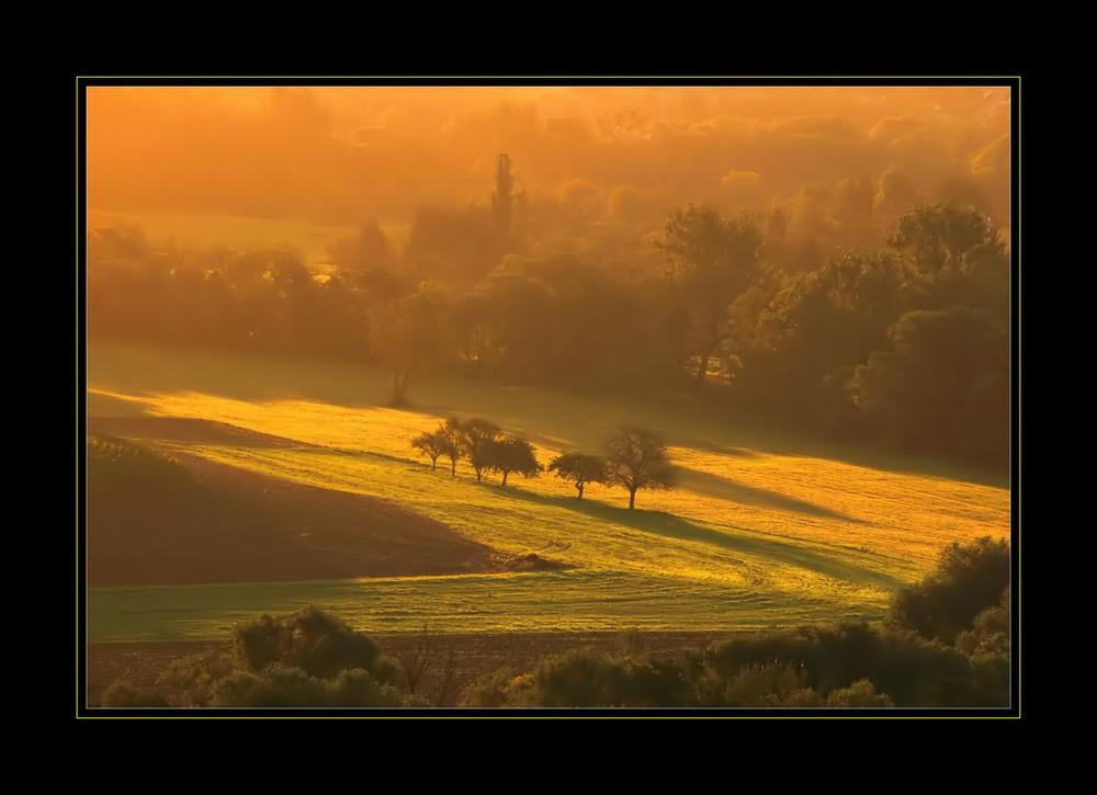 Das Tal der Blies an einem Septembermorgen