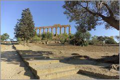 Das Tal der Tempel in Agrigento