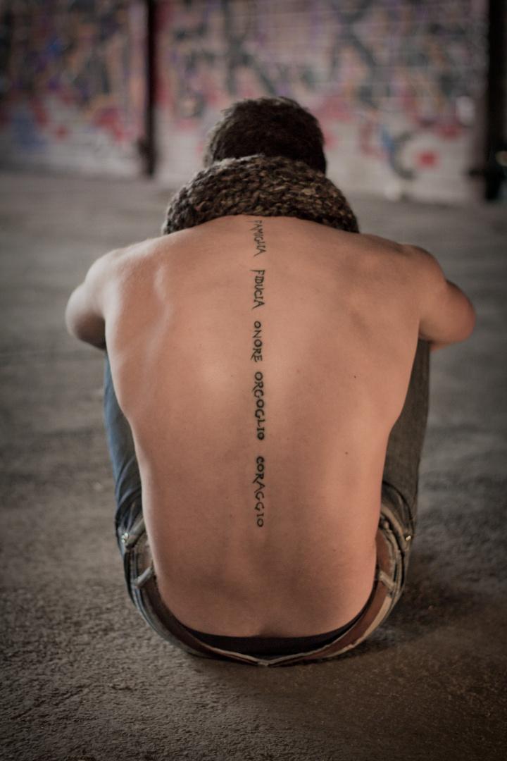 Das Tattoo Foto Bild Erwachsene Mann Herbst Bilder Auf