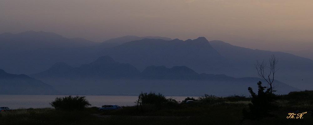 Das Taurusgebirge bei Antalya
