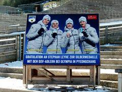 Das Team der Skispringer