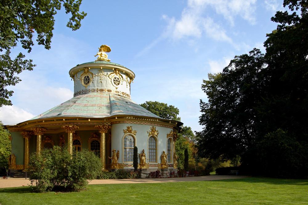 Das Teehaus in Sanssouci