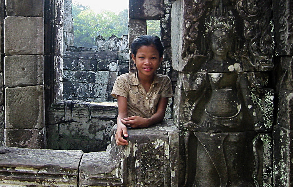 Das Tempelmädchen