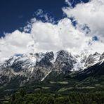 Das Tennengebirge...