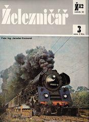 Das Titelbild dieser Tschechoslowakischen Eisenbahnzeitschrift