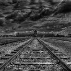"""Das """"Todestor"""" - Auschwitz-Birkenau"""