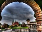 Das Tor der Festung ist geöffnet