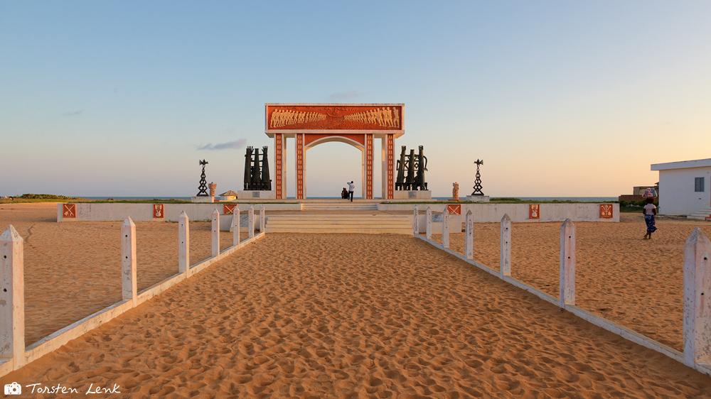 Das Tor ohne Wiederkehr in Ouidah