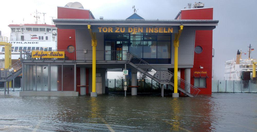 Das Tor zu den Insel bleibt heute geschlossen
