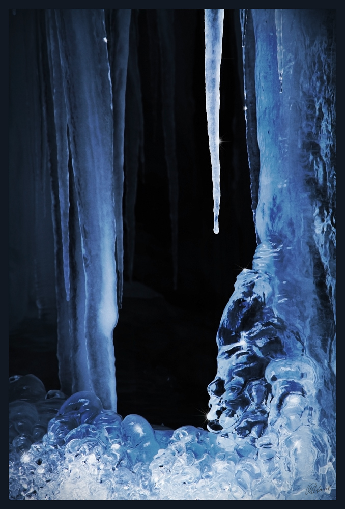 Das Tor zum Eispalast...