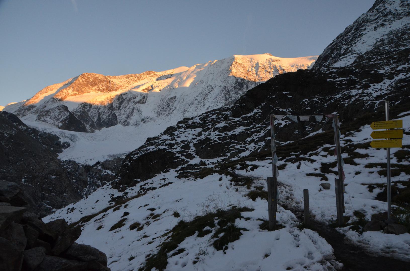 Das Tor zum Gletscher