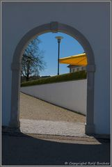 Das Tor zum Kloster St. Urban