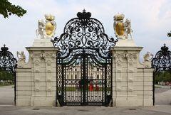 Das Tor zum Schloss