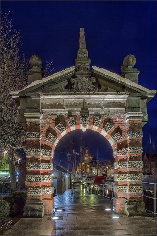 Das Tor zur weiten Welt in Emden