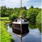 Das Torfschiff 'Tullum' zum Spiegeldienstag