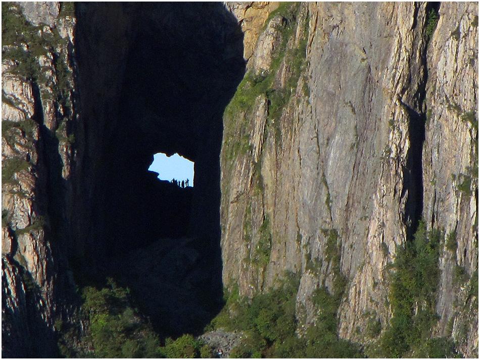 Das Torghatten-Loch