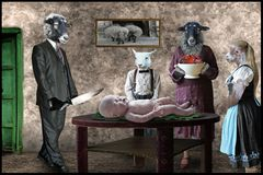 Das traditionelle Osterlamm