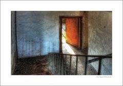 das Treppenhaus ...