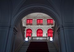 Das Treppenhaus im Katharinenpalast