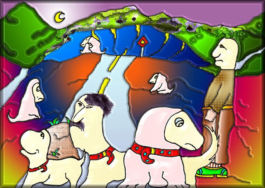 Das Tuscheklecksorakel für die Geburtstagskinder des sechsundzwanzigsten März 2007