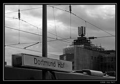 Das U - ein Teil der Dortmunder Skyline.