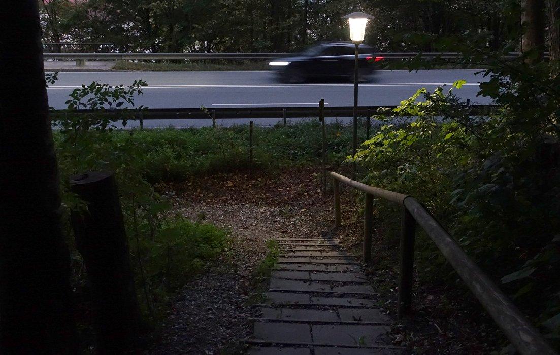 Das Überfallartige des frühen Morgens