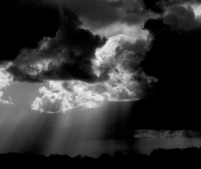 Das Unwetter naht..