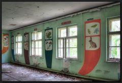 ...Das vergessene Klassenzimmer...