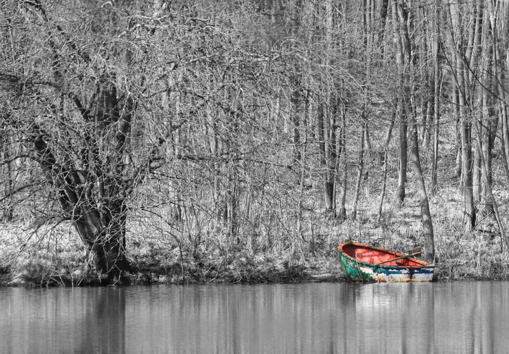Das verlassene Boot