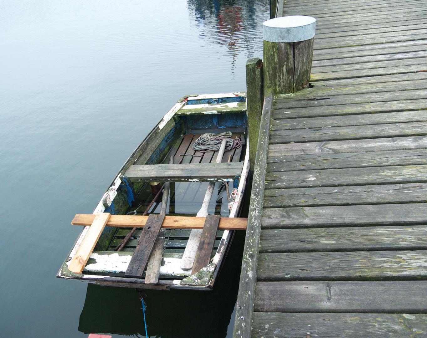 Das verlassene Boot oder Jack Sparrow is landing