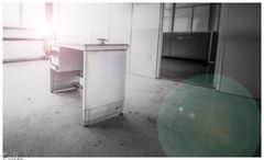 Das verlassene Bürogebäude