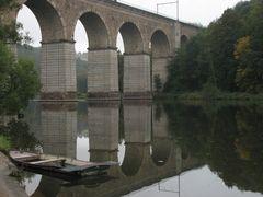 Das Viadukt im Spiegel