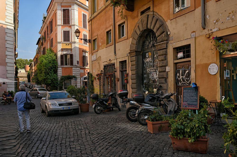 Das Viertel Trastevere in Rom
