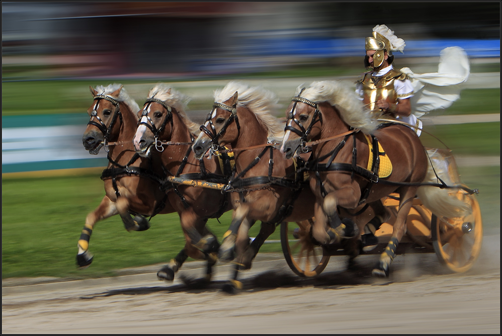 Römische Wagenrennen