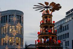 Das Wahrzeichen vom Weihnachtsmarkt Hannover