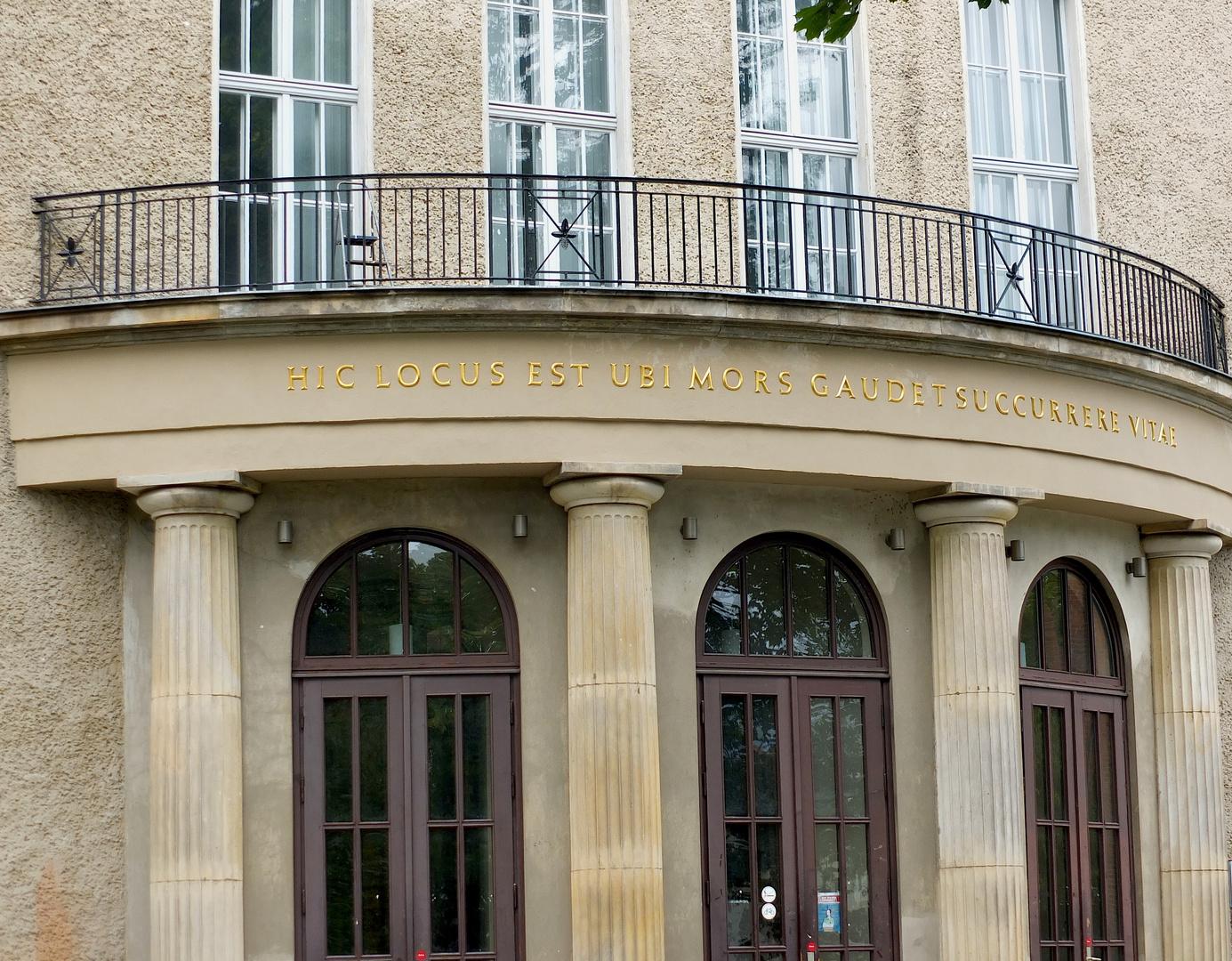 Das Waldeyer Institut der Charite