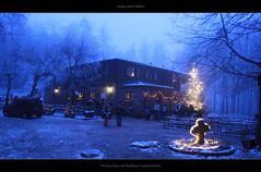 Das Waldhaus Lambertskreuz an Weihnachten