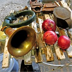 Das Waldhorn und die roten Zwiebeln