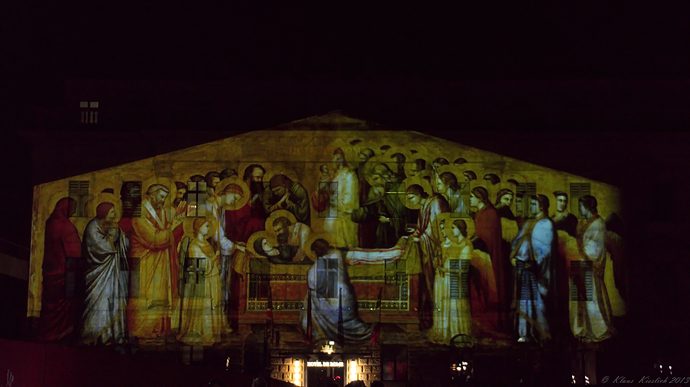 Das war das Festival of Lights ,Hotel de Rome ........