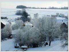 Das war der erste Schnee ...