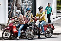 Das war knapp - Unfall in Saigon